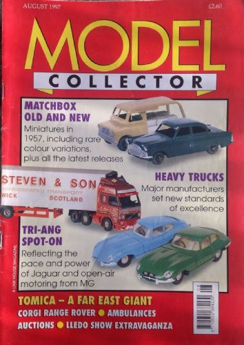 ORIGINAL MODEL COLLECTOR MAGAZINE August 1997